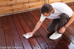 Protection d une terrasse en massaranduba reportage photo blog protection - Huile pour bois exotique ...