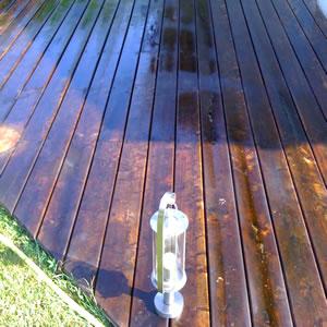 Terrasse bois noircie - Acide oxalique terrasse bois ...